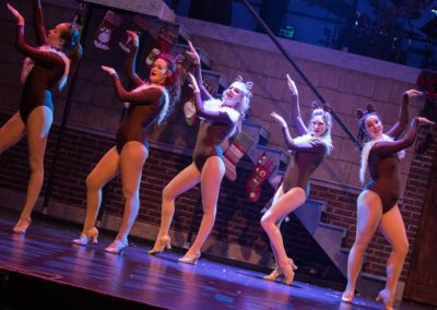Elissa Rastegar as Cupid - A Rock n Roll Christmas at Chrysler Theatre for the Performing Arts