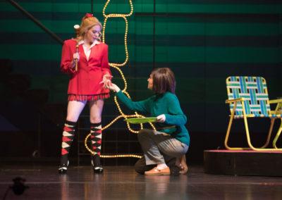 Elissa Rastegar as Mrs. Sawyer -Heathers - Chrysler Theatre for the Performing Arts
