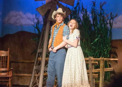 Elissa Rastegar as Laurey - Oklahoma - Laura Secord Secondary School for the Arts
